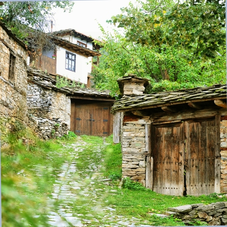 The village of Leshten. It will impress you with it's authentic Bulgarian architecture and atmosphere.