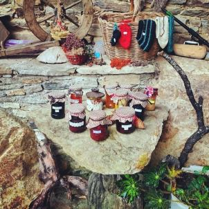 Jam and other fruit preserve.