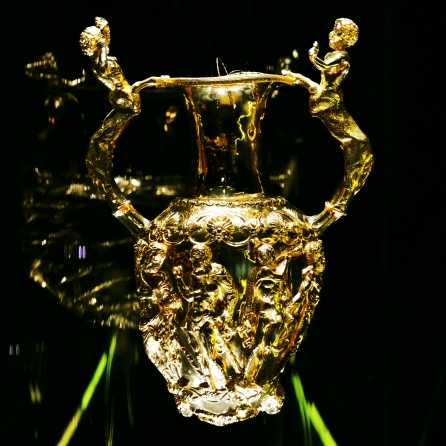 The Panagyurishte Treasure - one of the oldest gold treasures in the world dating back to the 4th century BC.