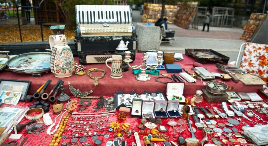 Antique Market_Sofia